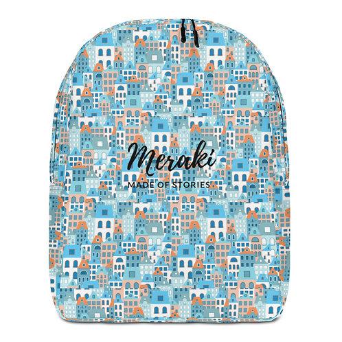 Creta Backpack - Designer Customisable Backpack with Greek island design