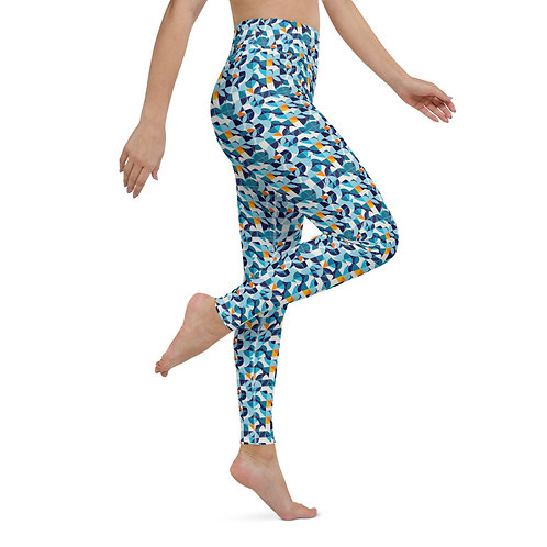 Alma Leggings - Designer Colourful High-Waisted Gym Leggings for Women