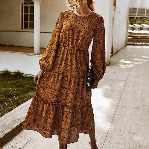 Zelda - Long Sleeve Midi Dress