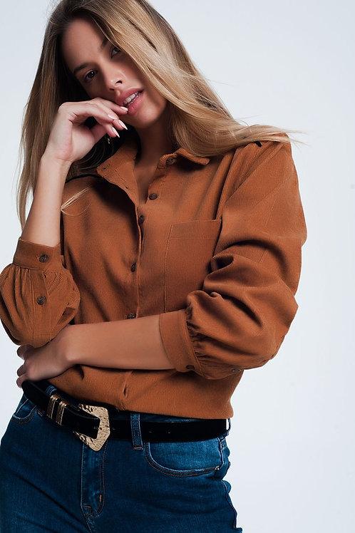 Womens Cord Shirt