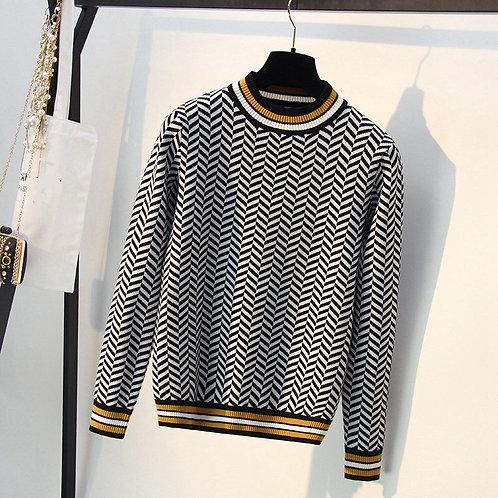 Brazil - Herringbone Sweater