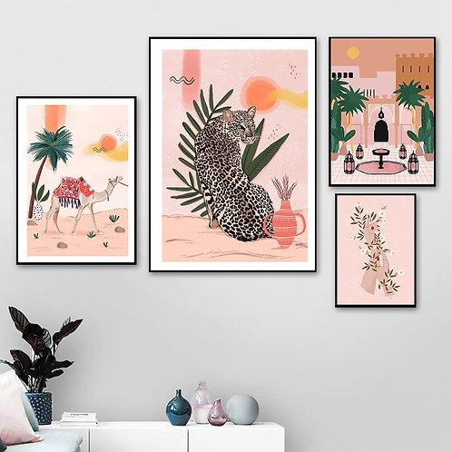 Morocco Prints  - Wall Art - Canvas Poster