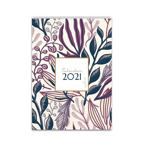 2021 Wall Calendar - Xmas Gift Ideas Family Planner Travel Calendar