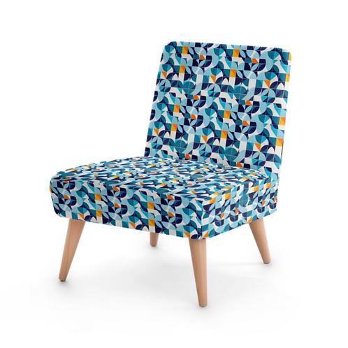 Azulejos - Designer Bespoke Occasional Chair