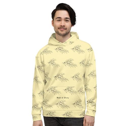 Apollon - Yellow Hoodie for Men