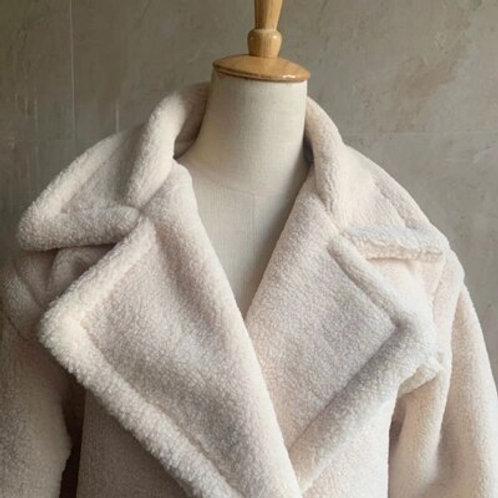 Sherpa Faux Fur - Teddy Long Coat