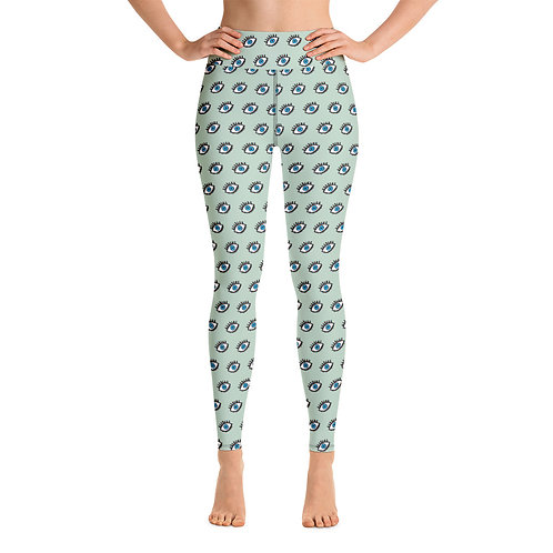Leto - Colourful High-Waisted Gym Leggings for Women Sports Pants
