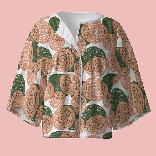 Brazil Mato - Velour Kimono Blazer with Silk Lining