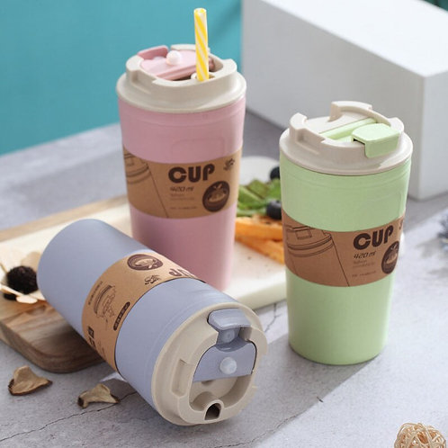 Bali - Eco-Friendly Biodegradable Bamboo Coffee Tea Travel Takeaway Mug