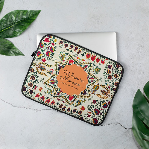 Made of Stories Meknes - Colourful Laptop Case