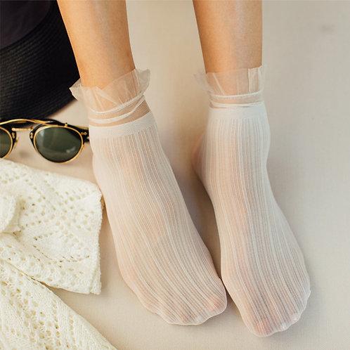 Womens Lace Socks