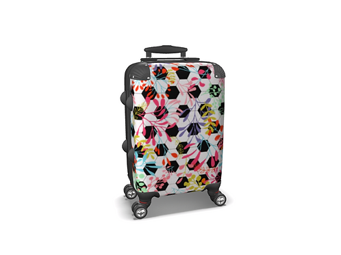 Celebracao de Futebol - Colourful Carry-on Luggage