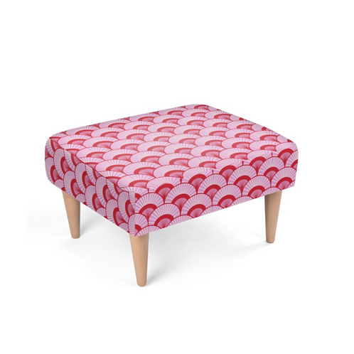 Rose City - Designer Footstool