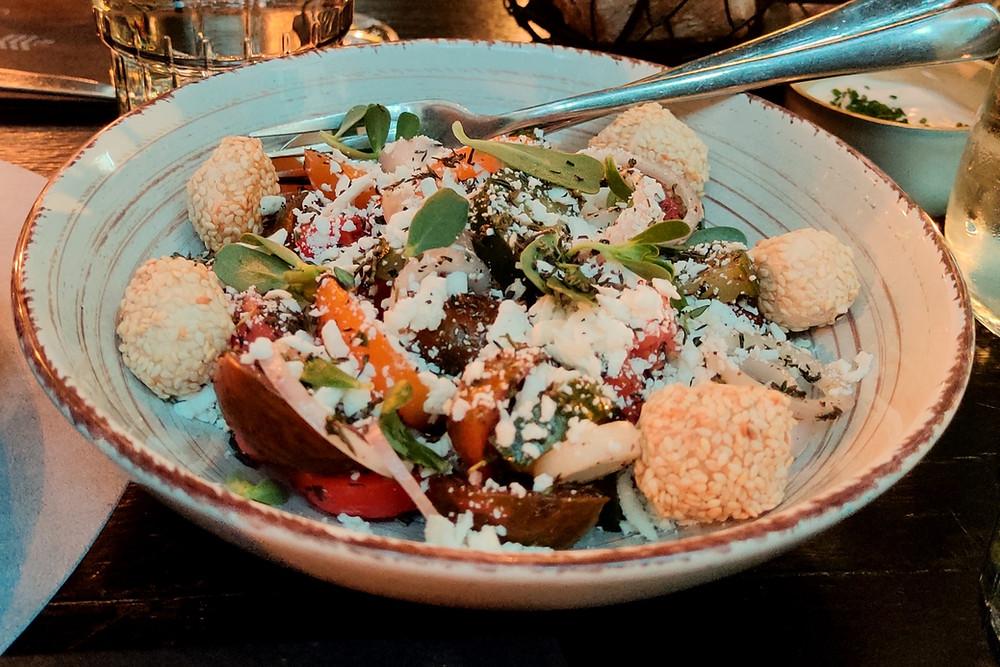 traditional Greek salad with a twist