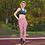 Thumbnail: Rose City Leggings - Designer Colourful High-Waisted Gym Leggings for Women