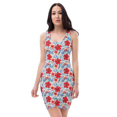 Paixao - Colourful Designer Fitted Dress