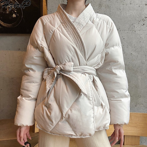 Bash - Quilted Parka Coat