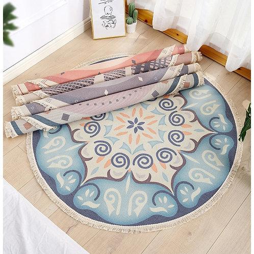 Morocco - Bohemian Round Rug