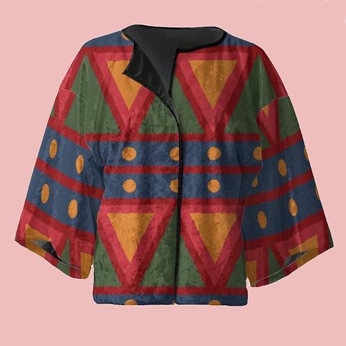 Tambor - Velour Kimono Blazer