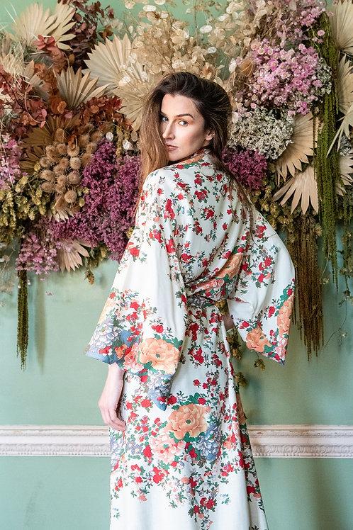 Gitgit - Colourful Kimono Dressing Gown for Women