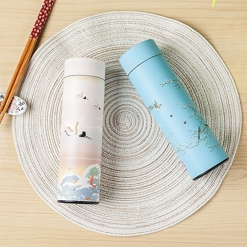 Colourful Stainless Steel Water Bottle - Thermos Coffee Mug Gift Ideas