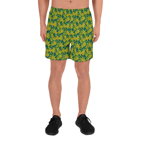 Dionysus - Men's Athletic Long Shorts Colourful shorts for men Floral shorts