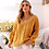 Thumbnail: Yellow Bohemian Sweater - Female Knitted Jumper