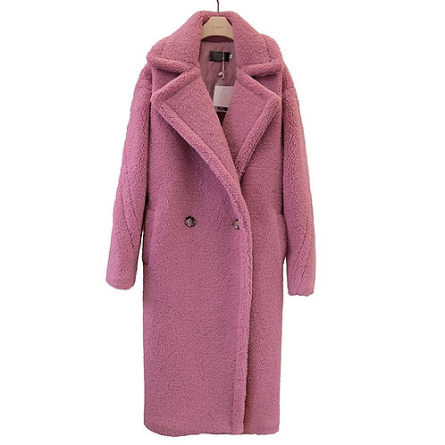 Sherpa Faux Fur - Teddy Long Coat