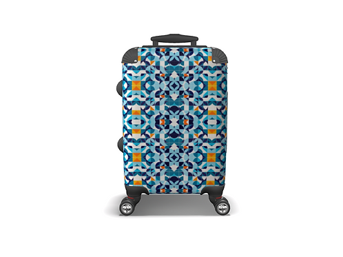 Azulejos Colourful Carry-on Luggage