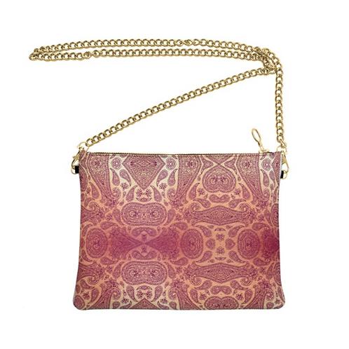 Moroccan Nights - Handmade Designer Real Leather Crossbody Bag