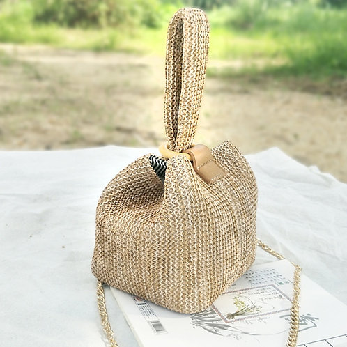 Praia - Straw Bag Pouch