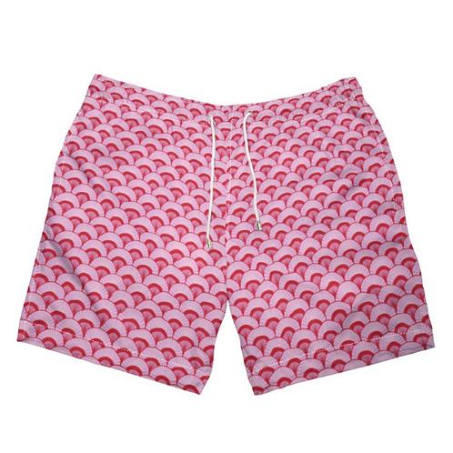 Rose City - Designer Swimming Shorts for Men