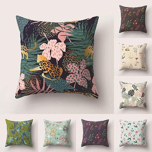 Bali - Boho Cushion Cover - Tropical Cushions - Square Pillow - Sofa Cushions