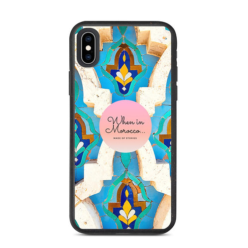 Casablanca - Colourful Boho Style Eco-friendly and biodegradable iphone case