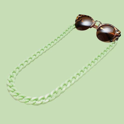 Green Sunglasses Chain and Mask Garland