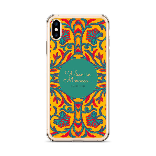 Made of Stories Marrakesh - Colourful Boho Style iPhone Case