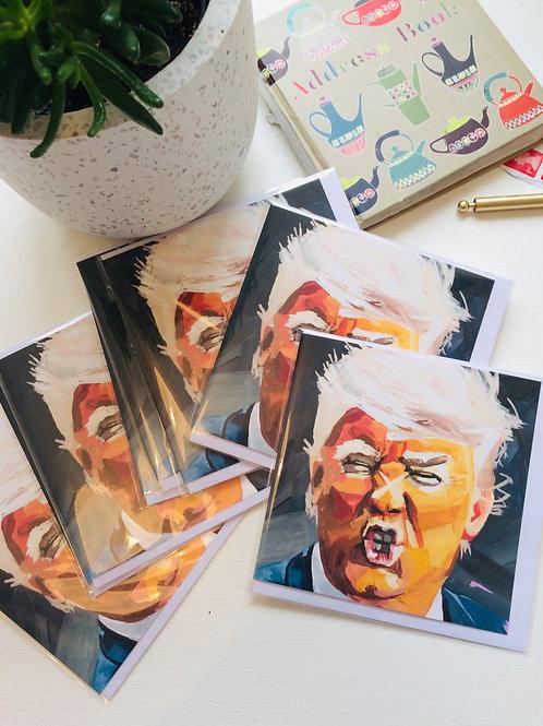 Donald Trump greetings cards