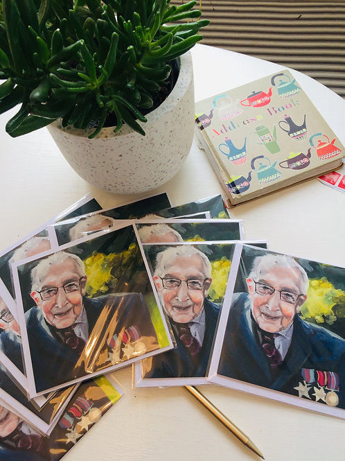 Captain Tom greetings cards