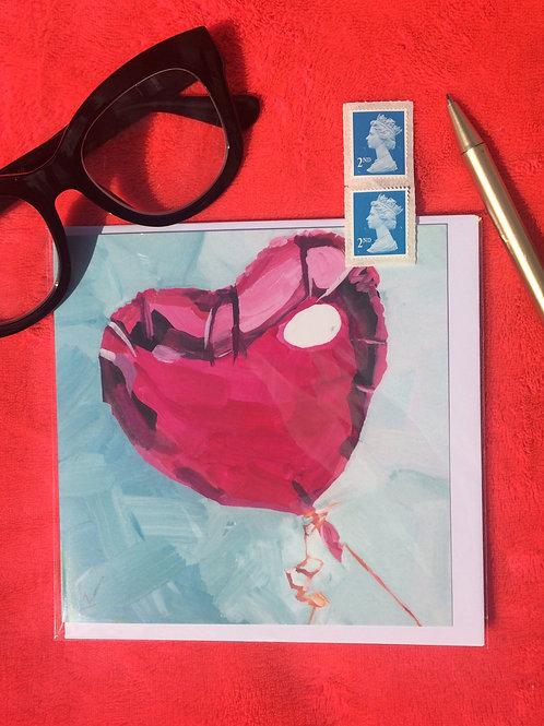 Fuscia balloon
