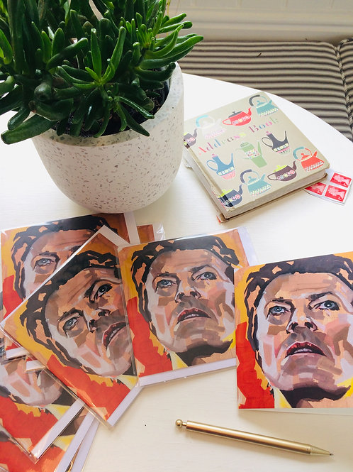 David Bowie greeting cards