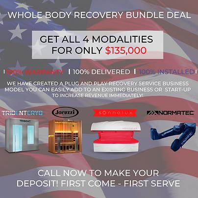 Copy of Whole Body Recovery Center Bundl