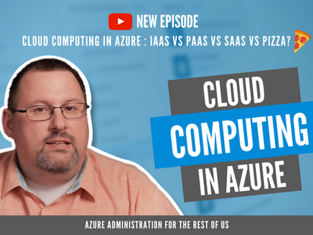 What pizza and Azure cloud computing have in common