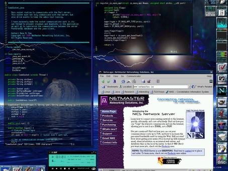 Trip down memory lane - what did your desktop look like 20 years ago?