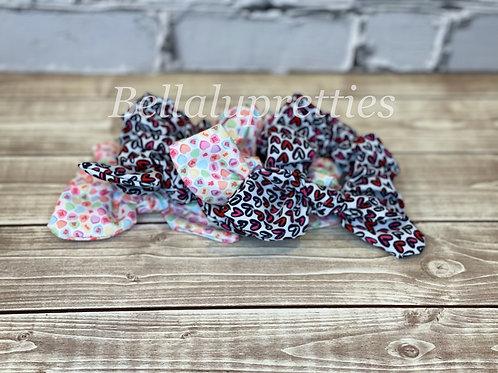 Valentine Pattern Scrunchies