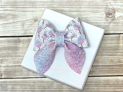 Cotton Candy Sailor Bow