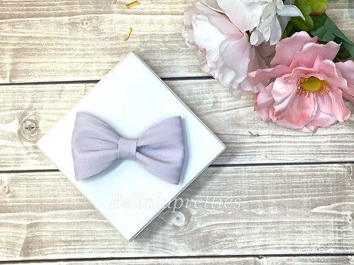 Lavender Pet Collar Bowtie