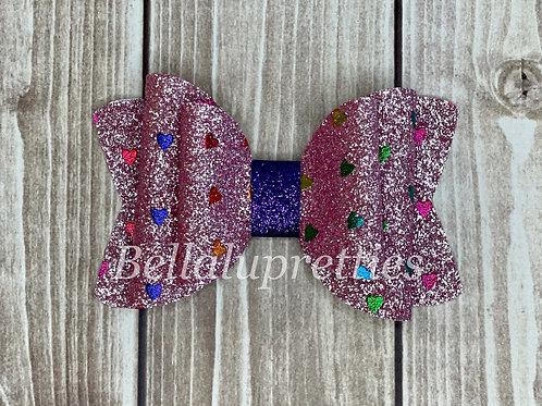 Pink Multi Hearts Chloe