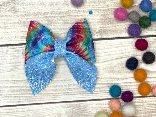 Tie Dye Sailor Bow