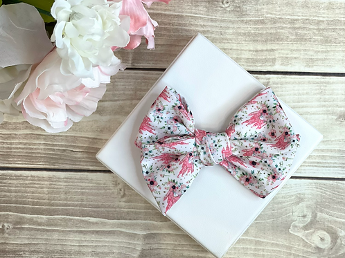 Fairytale Floral Large Pretty Bow