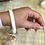 Thumbnail: White Blush Bracelet Keychain